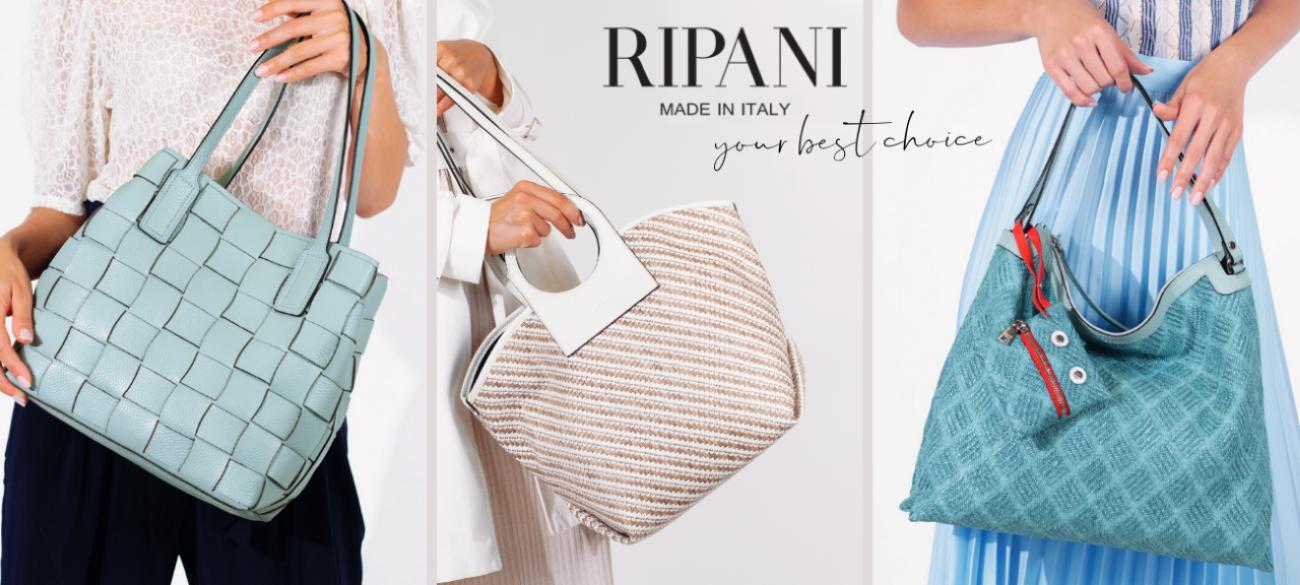 RIPANI - Italiaanse tassen voor vrouwen met verfijnde stijl