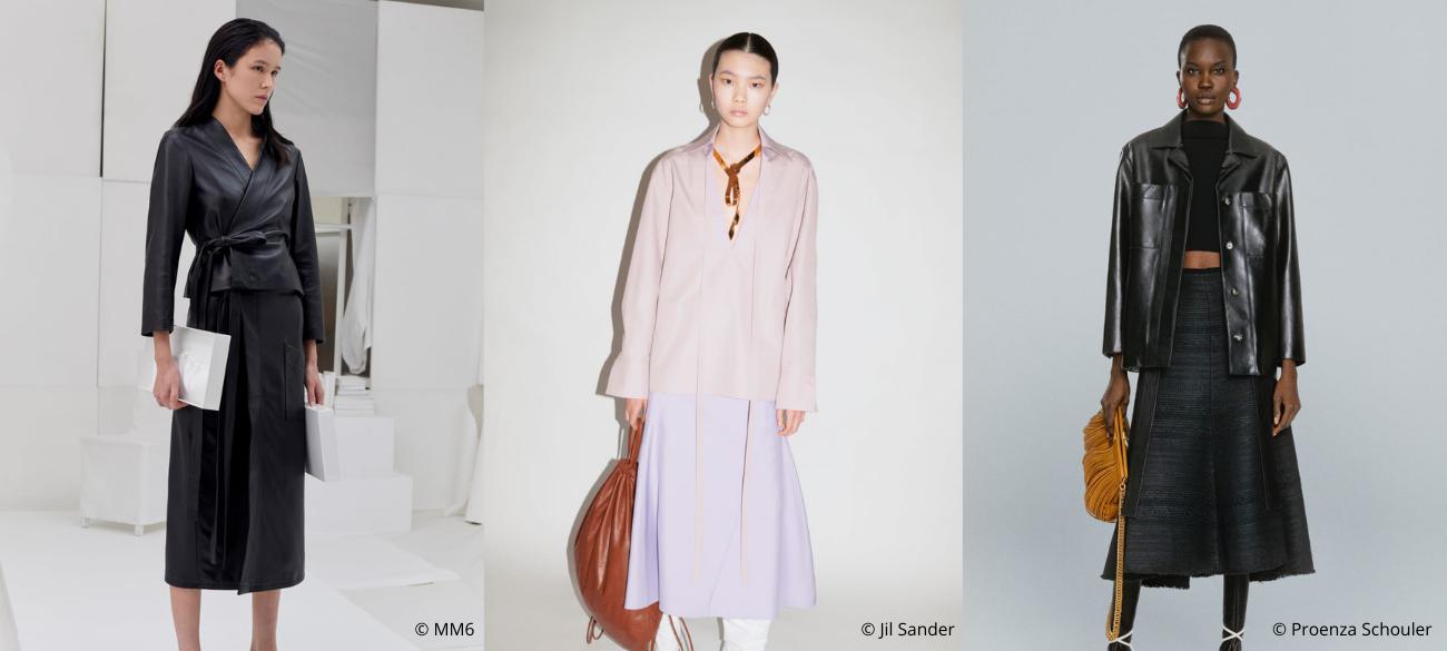Must-wear trend van fall/winter 2021-2022: Over The Knee Skirt