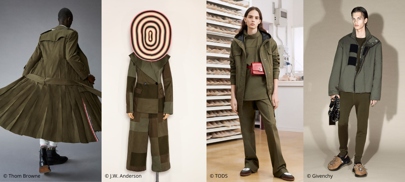 Must-wear trend van fall/winter 2021-2022: Olive Green