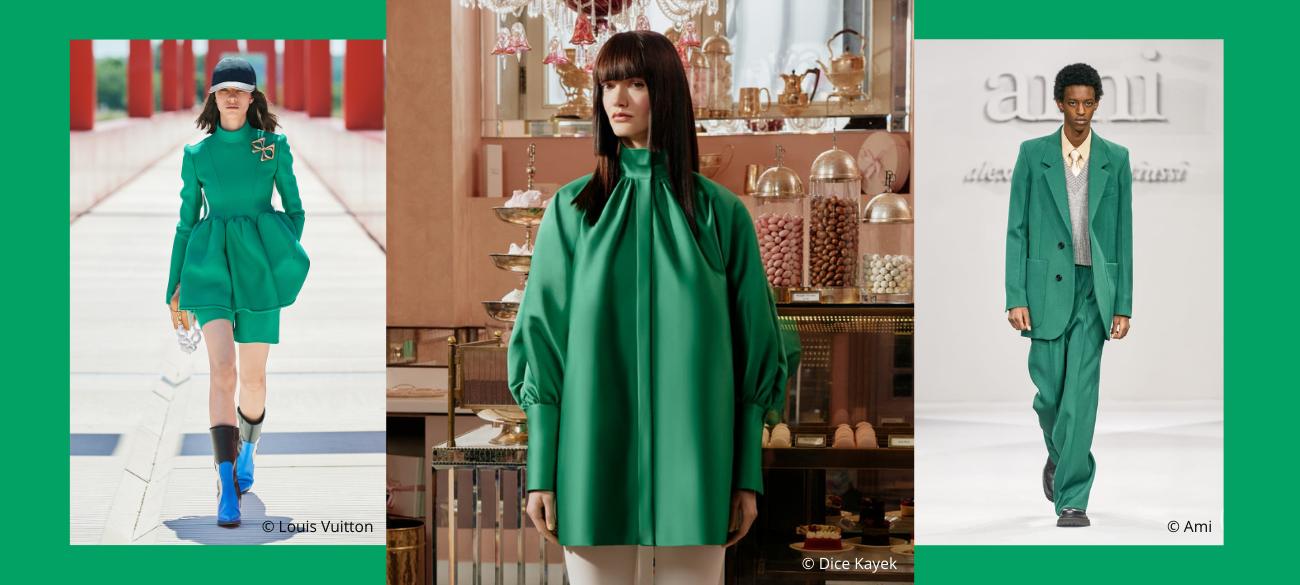 Must-colour trends van spring/summer 2022: Kelly Green