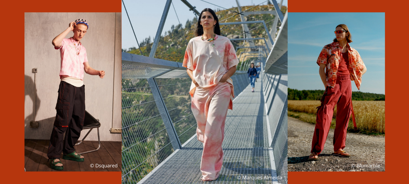 Must-patterns trends van spring/summer 2022: Tie Dye
