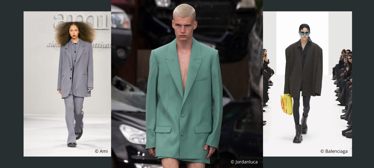 Must-wear trends van spring/summer 2022: XL Blazer
